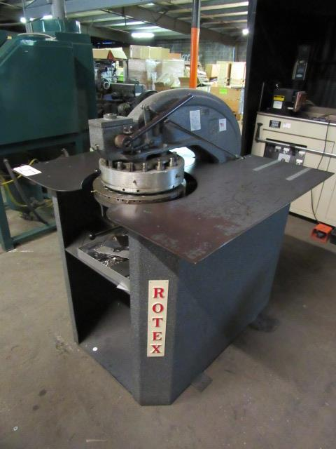 Rotex Model 20C3-50 24-Station Turret Punch, sn: 39934 - Image 3 of 5