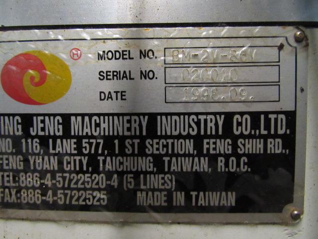 V10 Automotive Model BM-2V-86V Vertical Milling Machine - Image 6 of 6