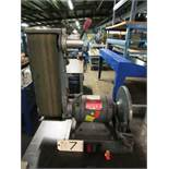 Enco Model 163-4700 6'' x 12'' Bench Grinder / Sander, sn:908006