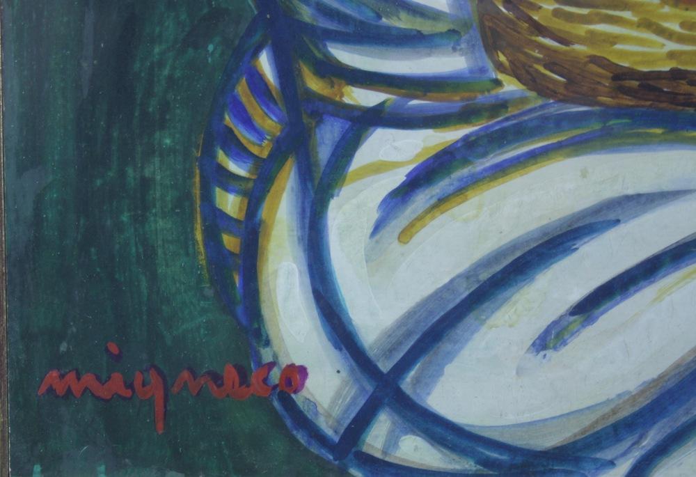 Lot 4 - Giuseppe Migneco (Messina 1908 - Milano 1997)