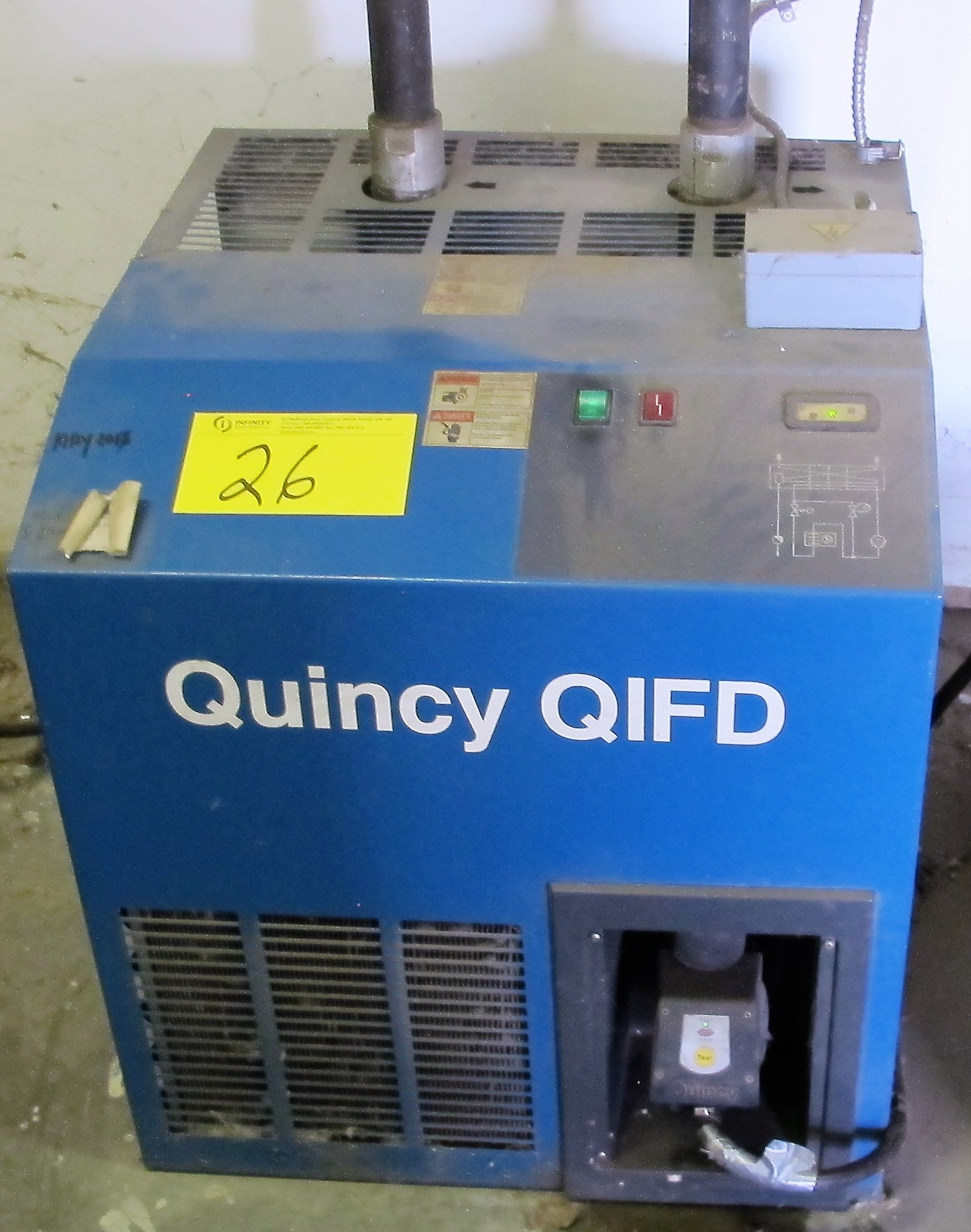 Lot 26 - QUINCY QIFD AIR DRYER W/ FILTERS