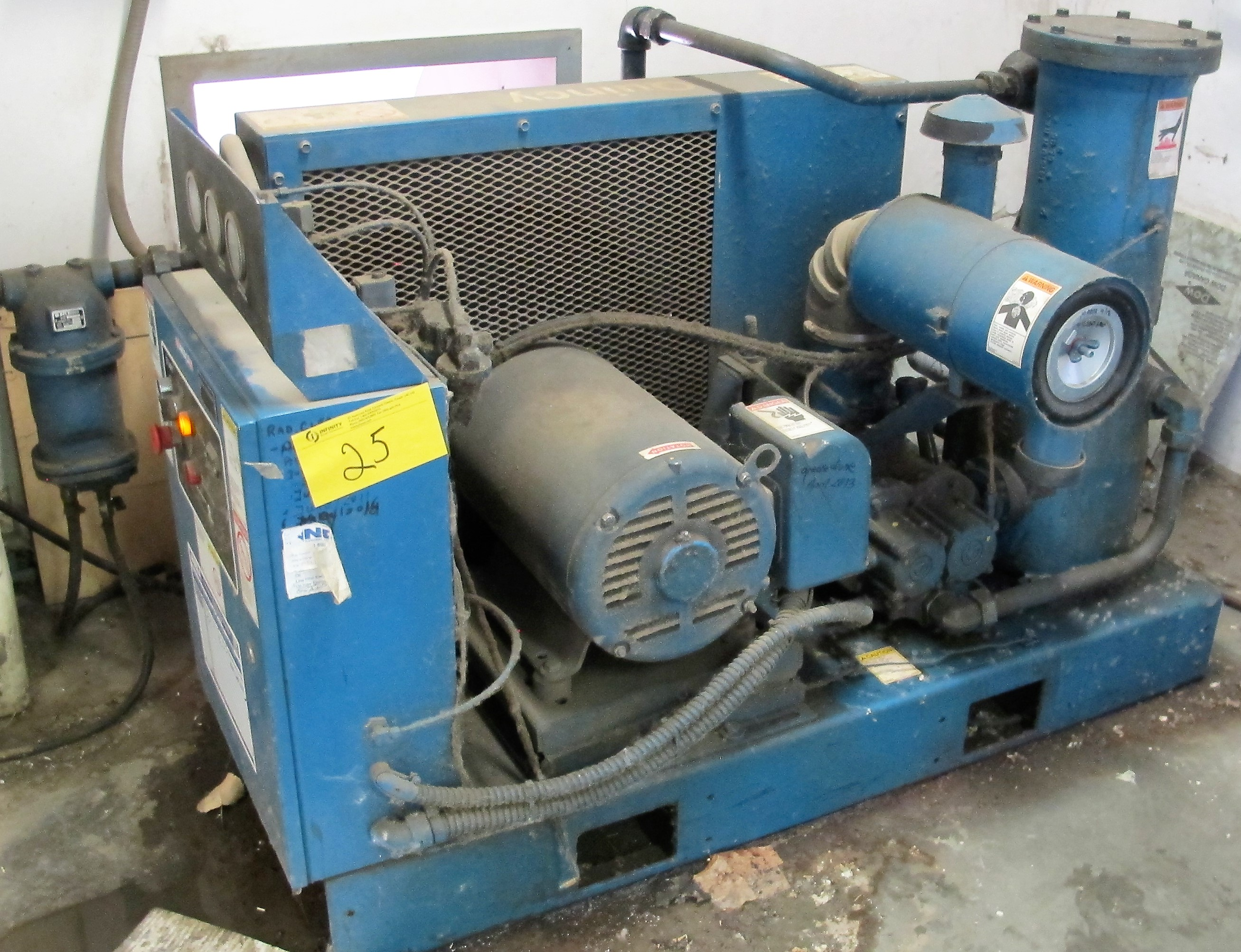 Lot 25 - QUINCY QSB30ANA42SQ 30HP AIR COMPRESSOR