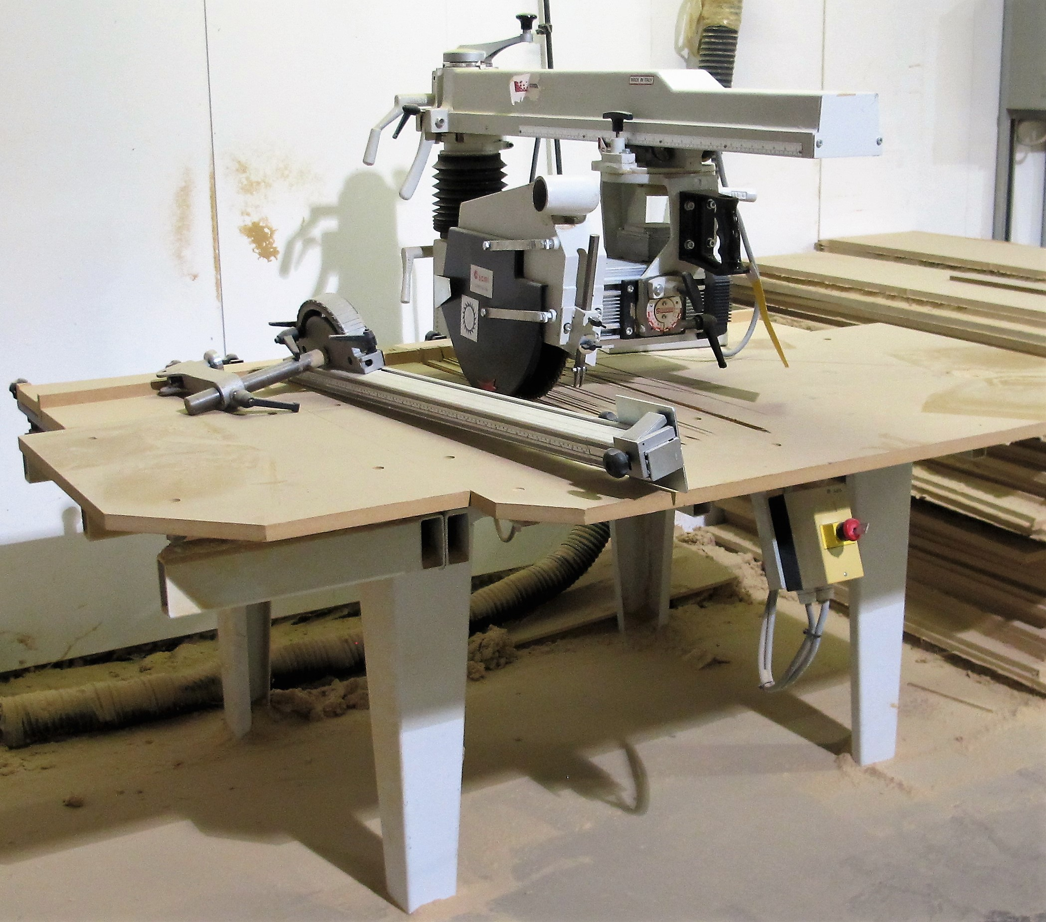 Lot 14 - 2001 SCMI RS 750 RADIAL ARM SAW, S/N 210899, 3,400 RPM