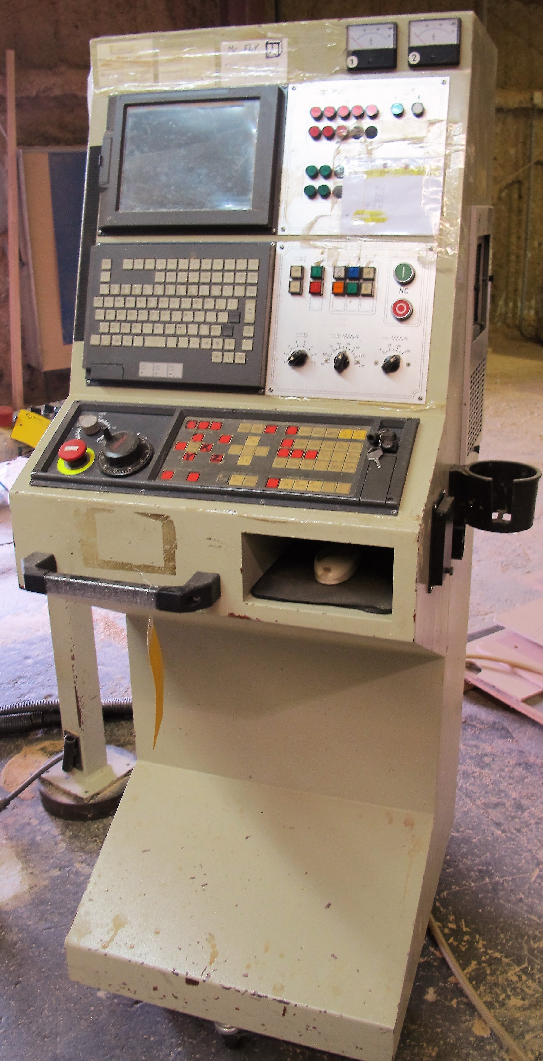 """Lot 11 - 2000 ANDERSON NC-3116TC CNC ROUTER, S/N 01-89113, 63"""" X 122"""" TABLE, (2) HEAD EACH W/ 16 ATC, TOOLING"""