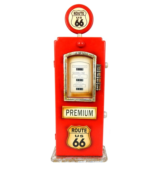 "Lot 54 - A Vintage Style ""Route 66"" Gas Pump."