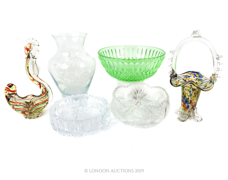 Lot 51 - A Quantity Of Various Glassware.
