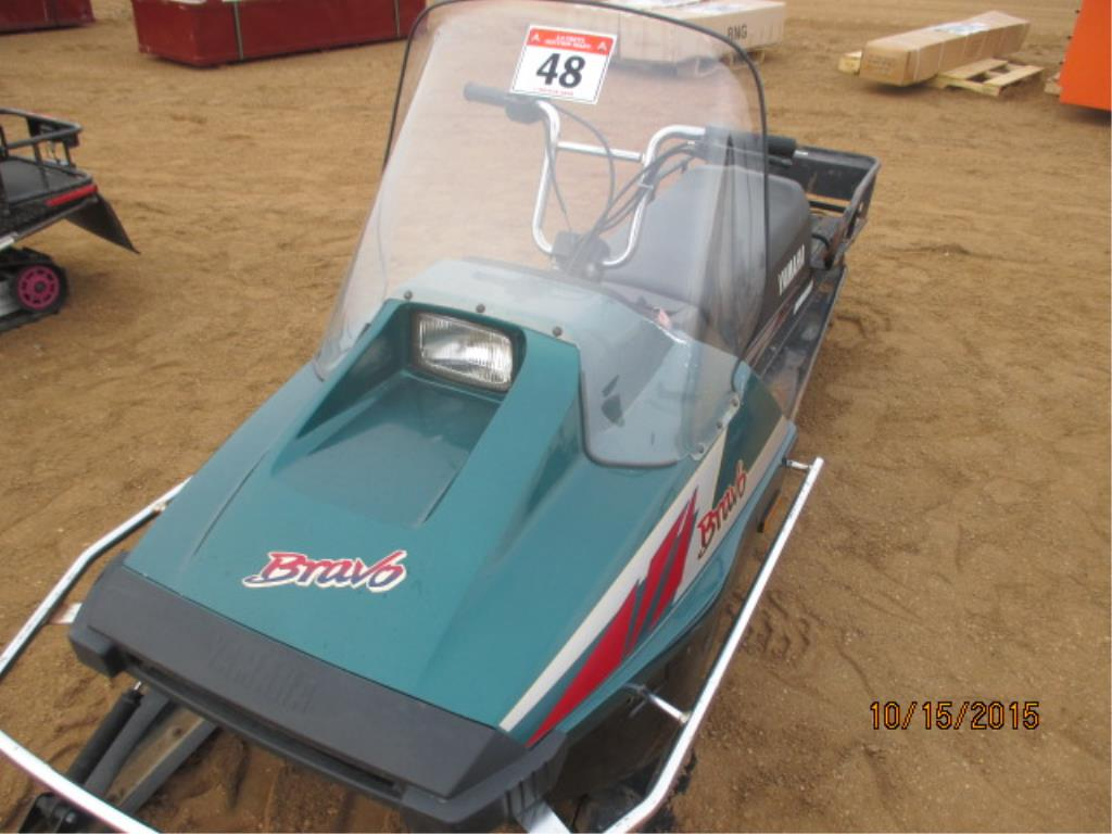 Lot 48 - 2008 Bravo Snowmobile 2815 kms