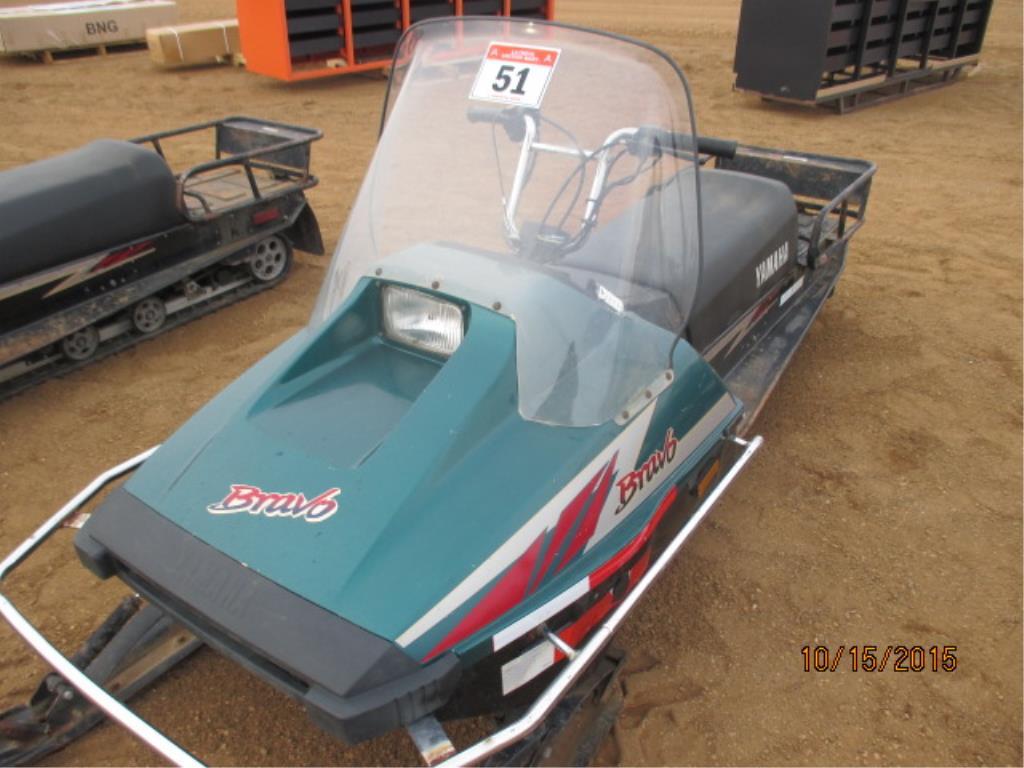 Lot 51 - 2008 Bravo Snowmobile 2644 kms