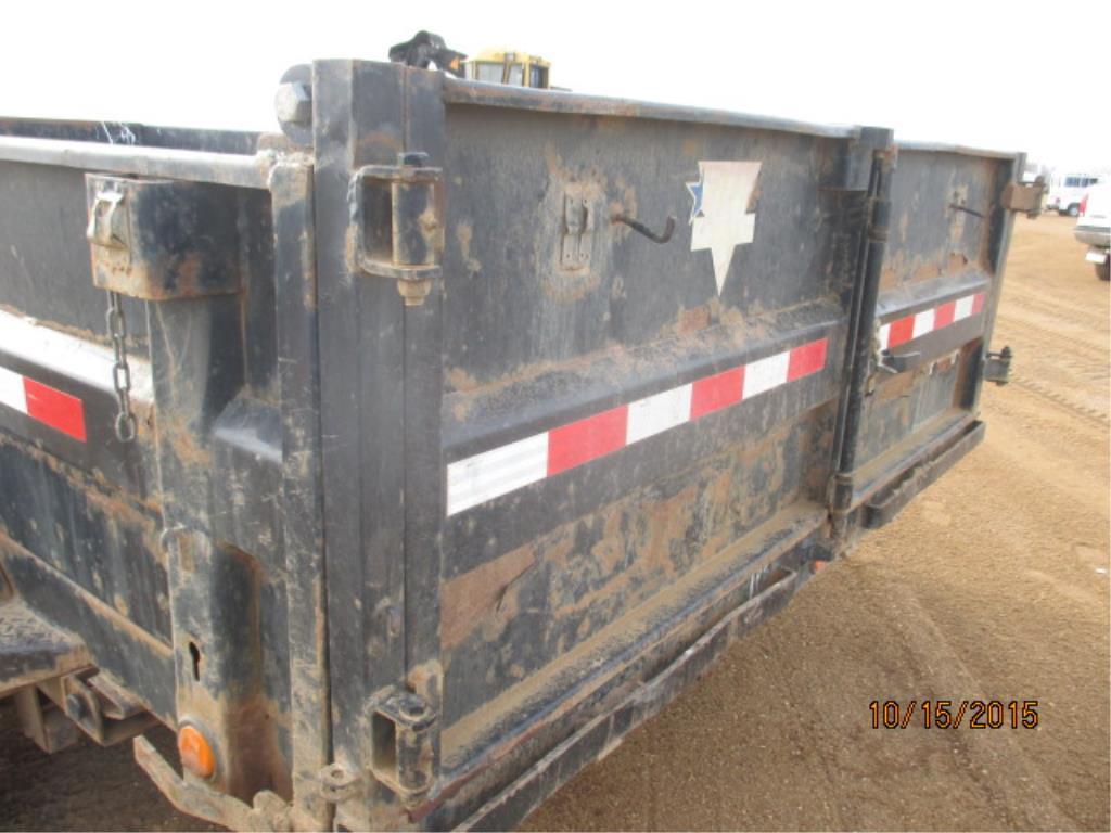Lot 6 - PJ T/A Dump Trailer 14 FT x 7 FT 7,000LB axles VIN 4PFD7142281122630