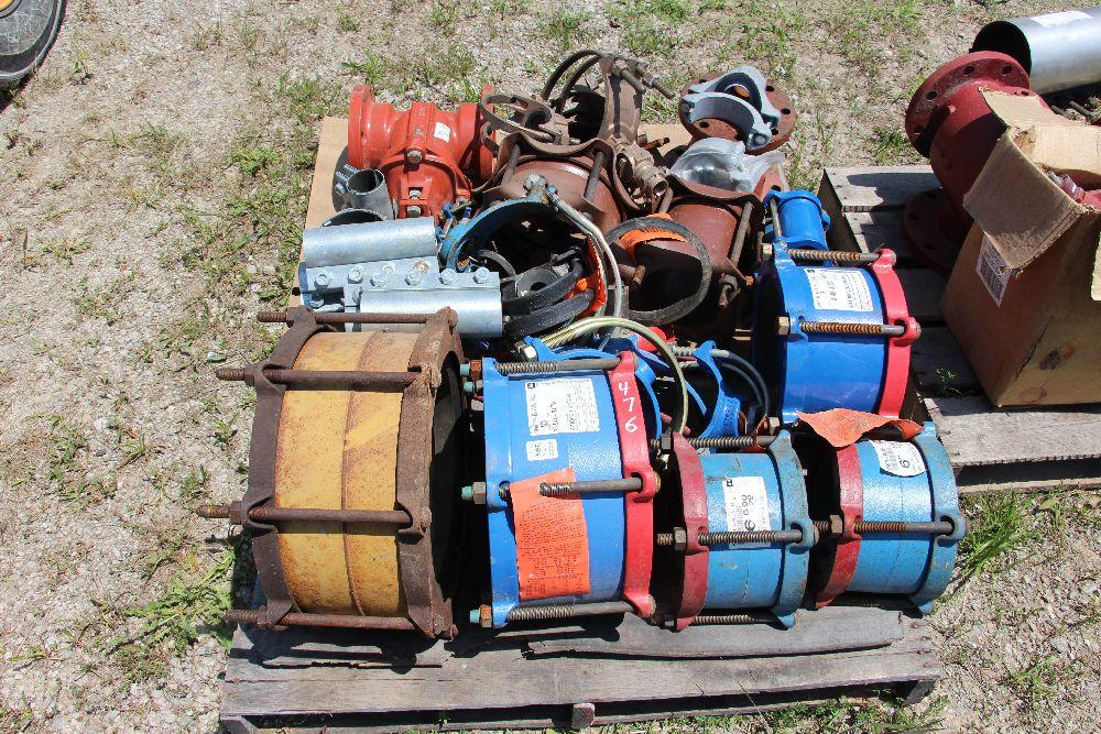 Dresser couplings saddle taps repair gate