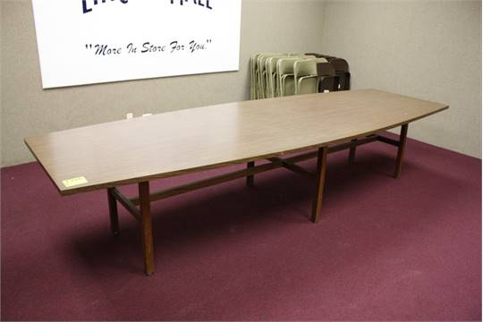 BOAT TAIL STYLE CONFERENCE TABLE X LOCATION CONF - 144 conference table