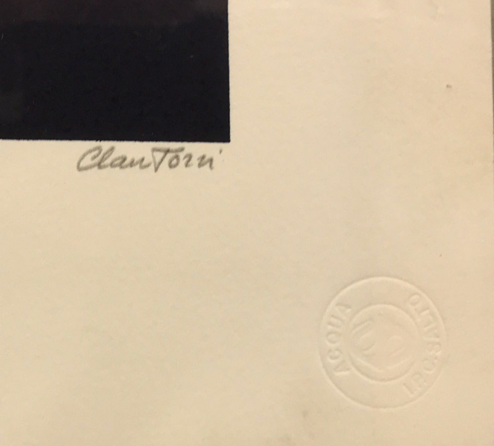 Lot 61 - Claudio Tozzi (Brazilian b.1944) A pencil signed limited edition 26/100 lithograph from the