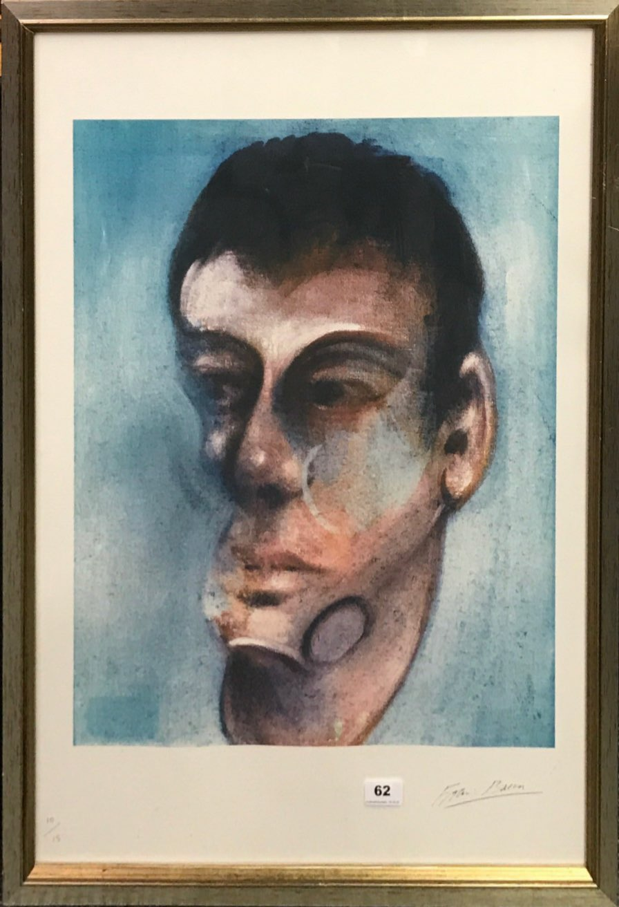 Lot 62 - Francis Bacon ( 1909-1992) A set of three numbered 10/15 limited edition offset lithographs of