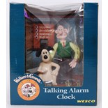Lot 18 - WALLACE & GROMIT ALARM CLOCK
