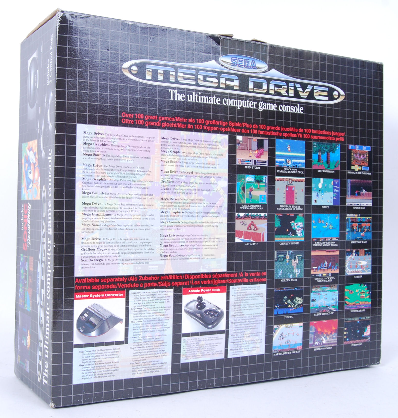 Lot 42 - SEGA MEGA DRIVE & GAMES