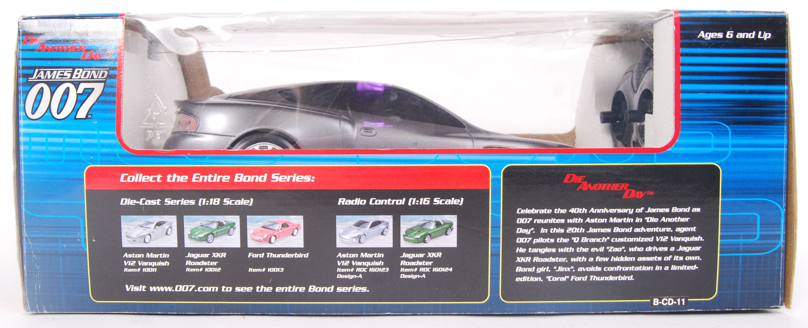Lot 2 - 007 RADIO CONTROL CAR