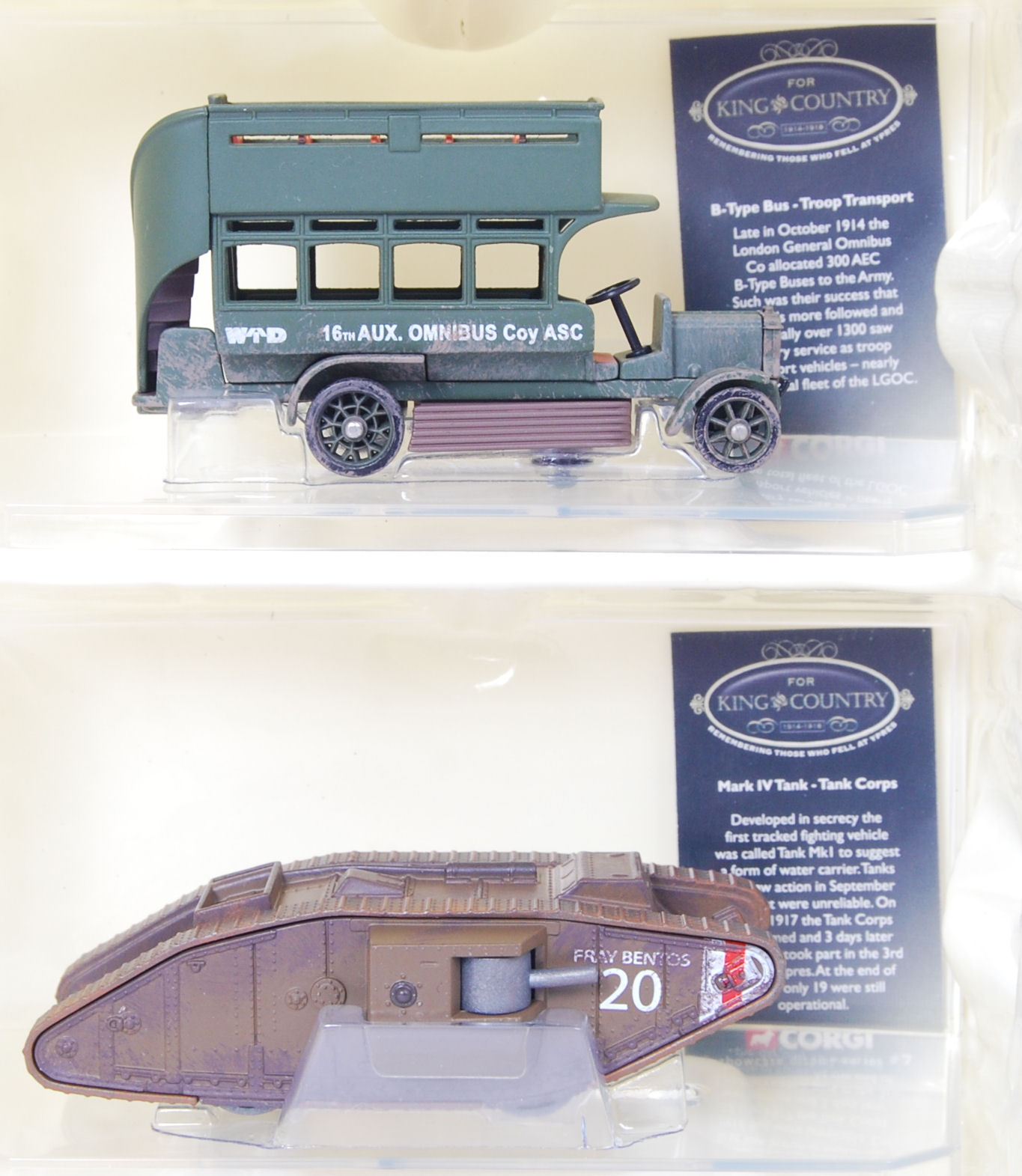 Lot 3 - CORGI KING & COUNTRY SET