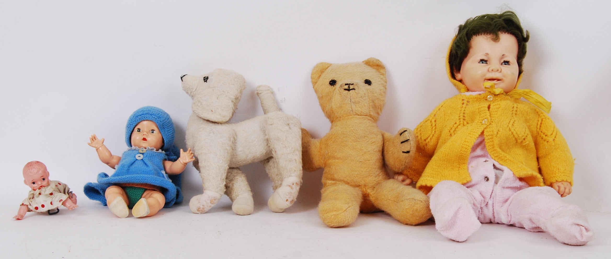 Lot 56 - VINTAGE DOLLS & TEDDY BEARS