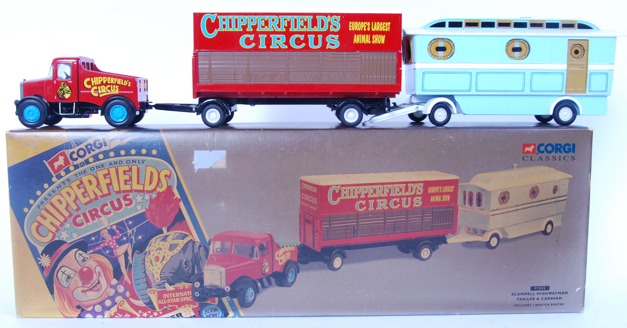 Lot 9 - CORGI CHIPPERFIELD CIRCUS