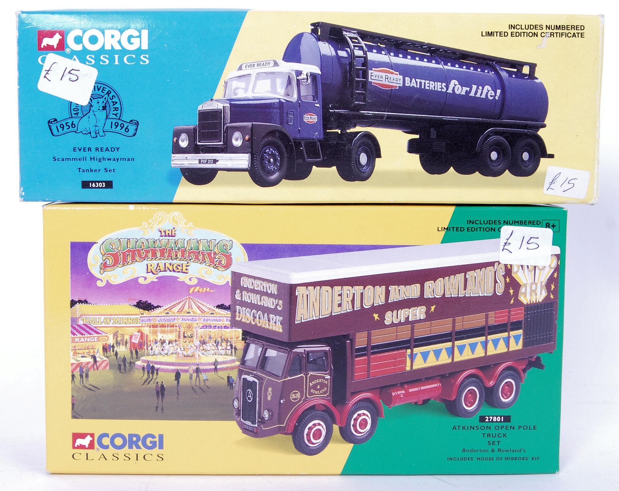 Lot 4 - CORGI CLASSICS