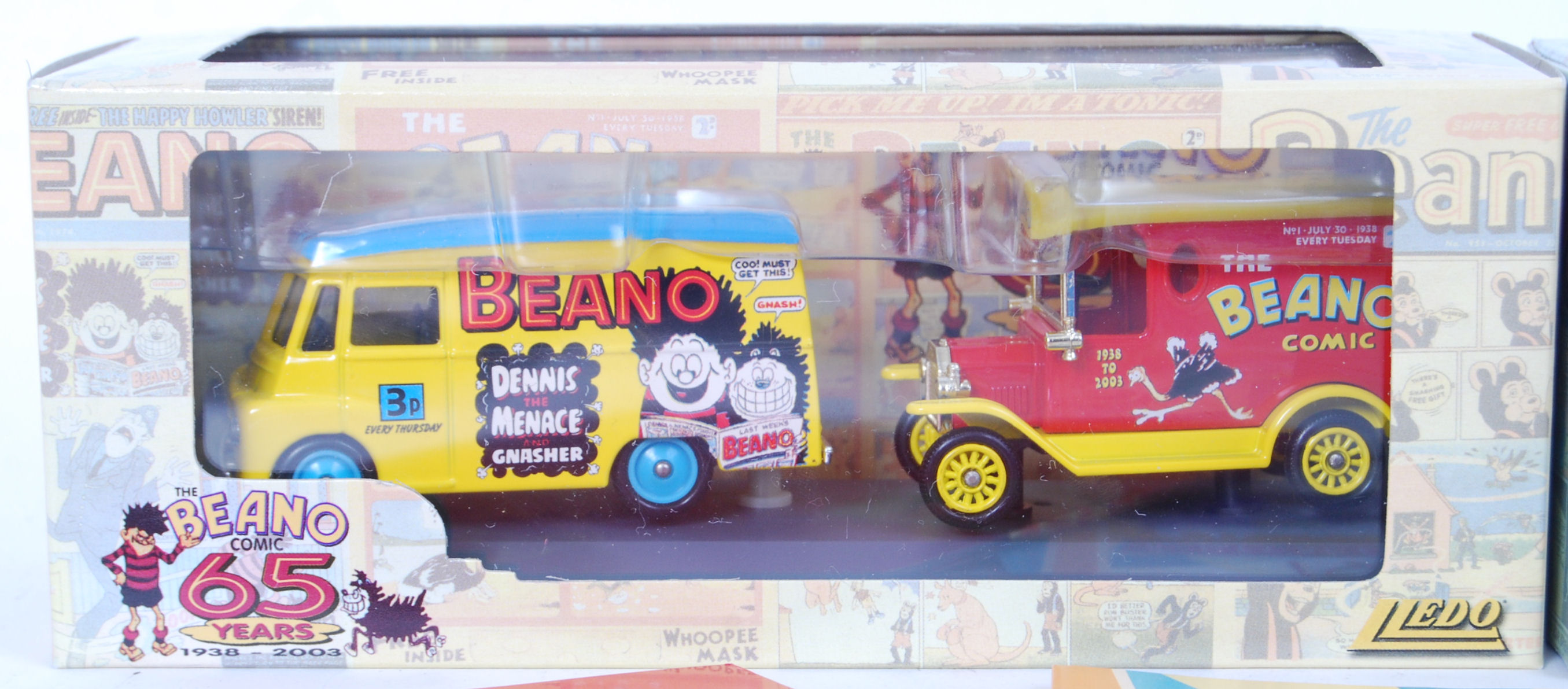 Lot 6 - LLEDO BEANO & DANDY DIECAST