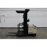 Crown 30SP36TT Order Picker, electric, 3000lb capacity, s/n 1A259792 with battery & 24V charger