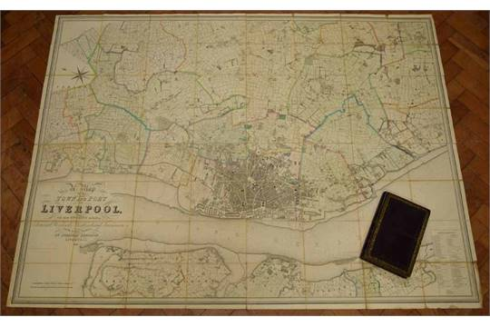 LIVERPOOL BENNISON JONATHAN A Map of the Town and Port of