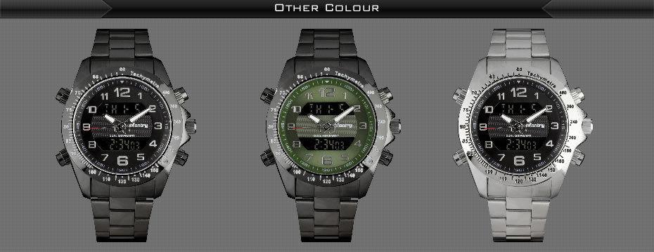 Mens Infantry Army Sport Digital Quartz Wrist Watch
