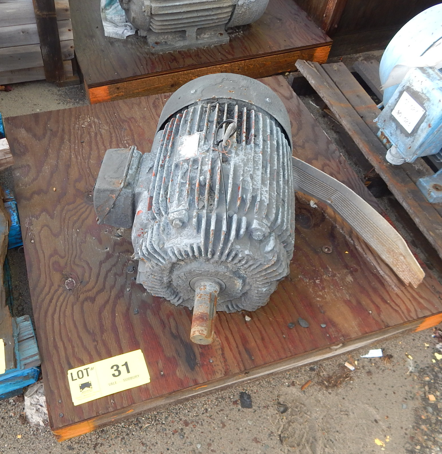 Lot 31 - ELECTRIC MOTOR (LOCATED AT CMD YARD)