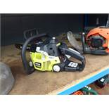 Ryobi petrol powered chainsaw