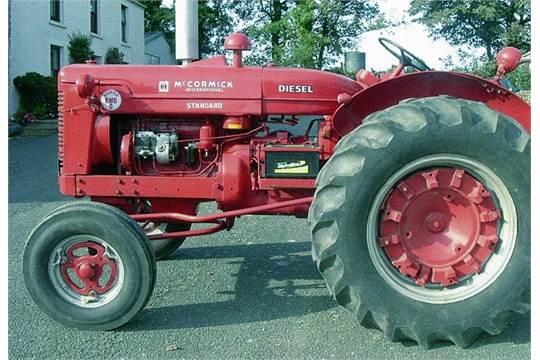 1954 mccormick ih super bwd6 4cylinder diesel tractor reg no 907