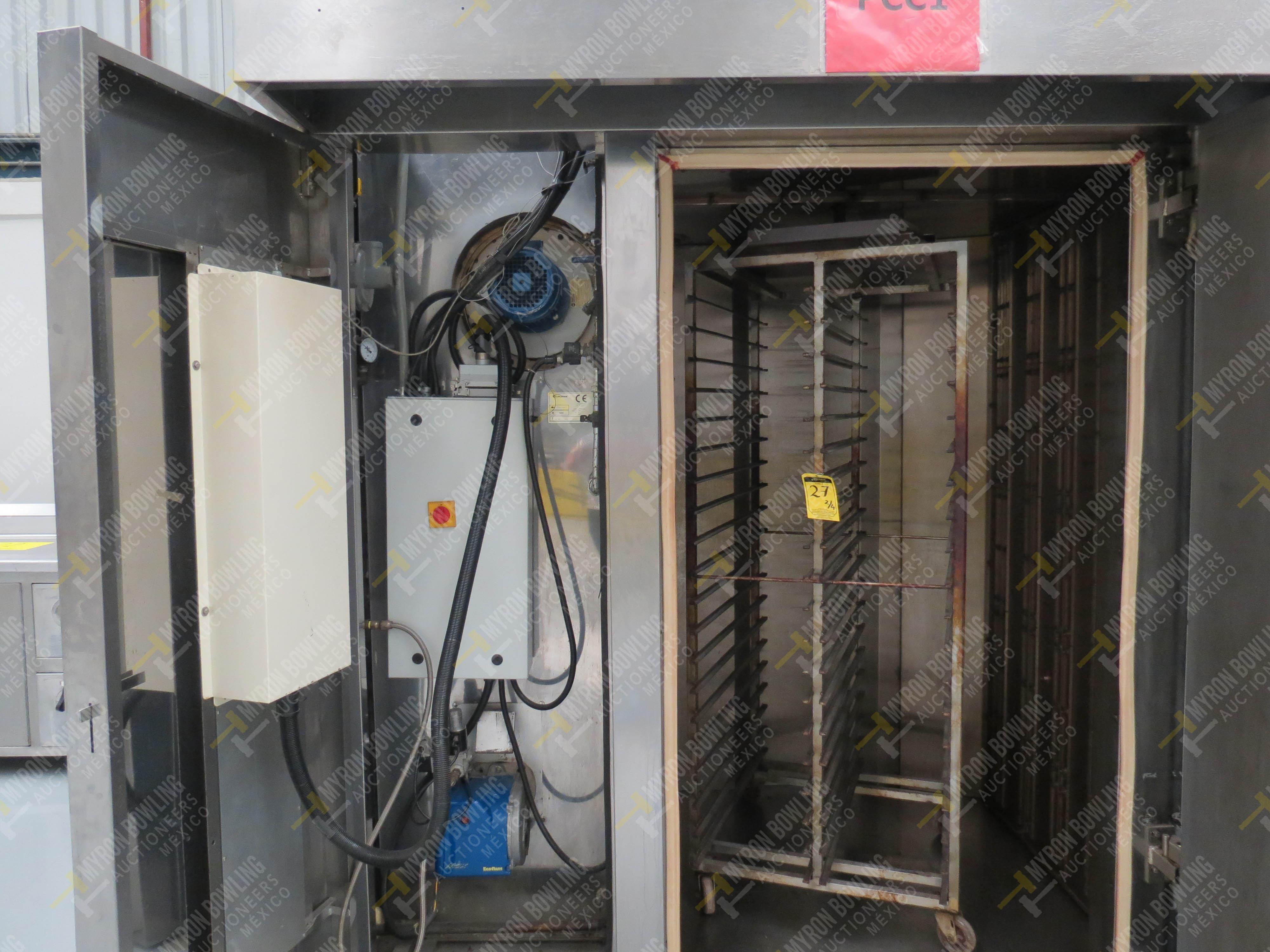 Horno giratorio a gas marca Europan, Modelo LFRN66X92, No. de Serie 6397, año 2007 ... - Image 5 of 13