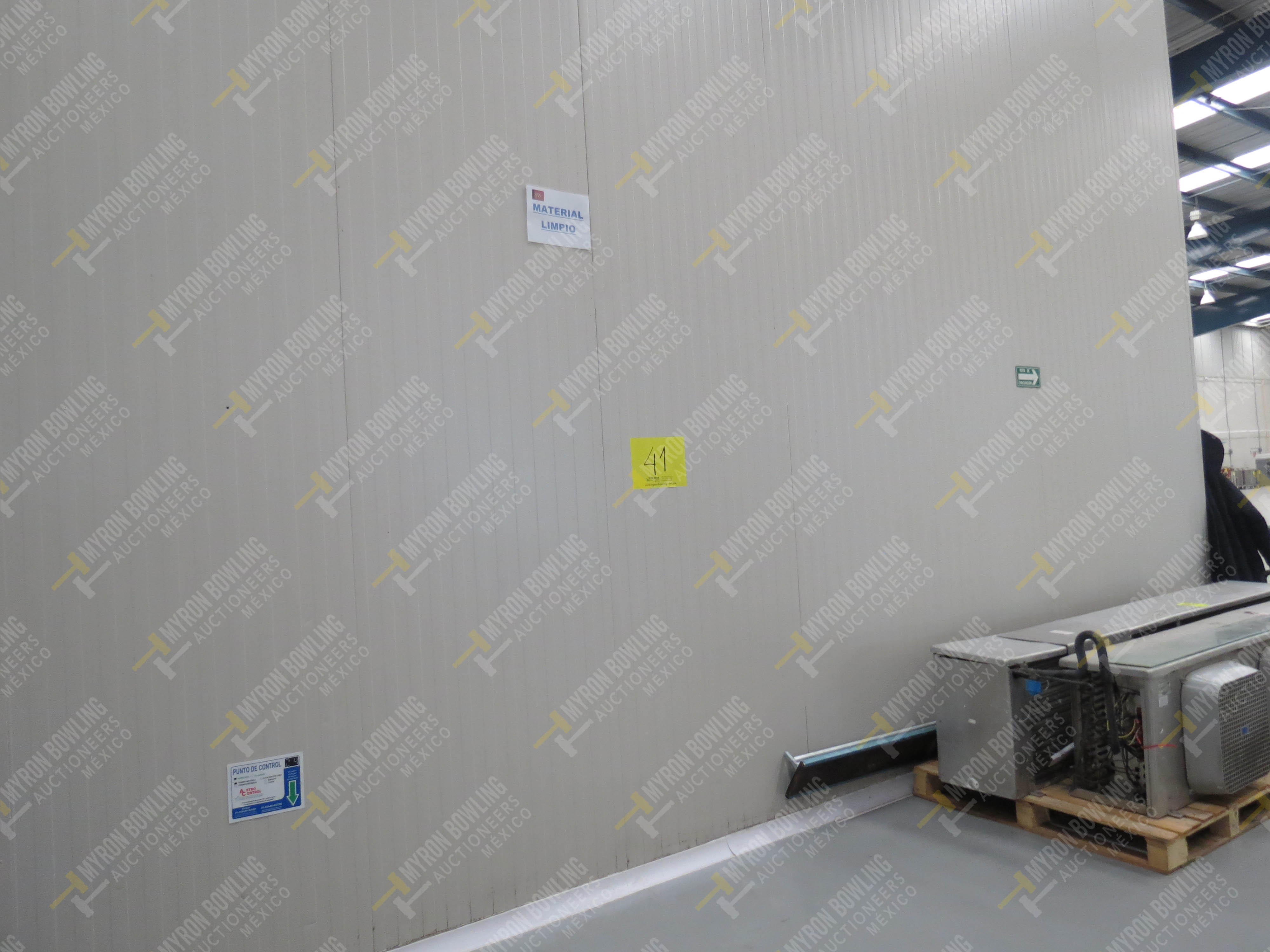 Cámara de refrigeración marca Krack, Modelo CSD-0301-L4K-133DD medidas 6.80 x 13.30 x 5.80 - Image 2 of 15