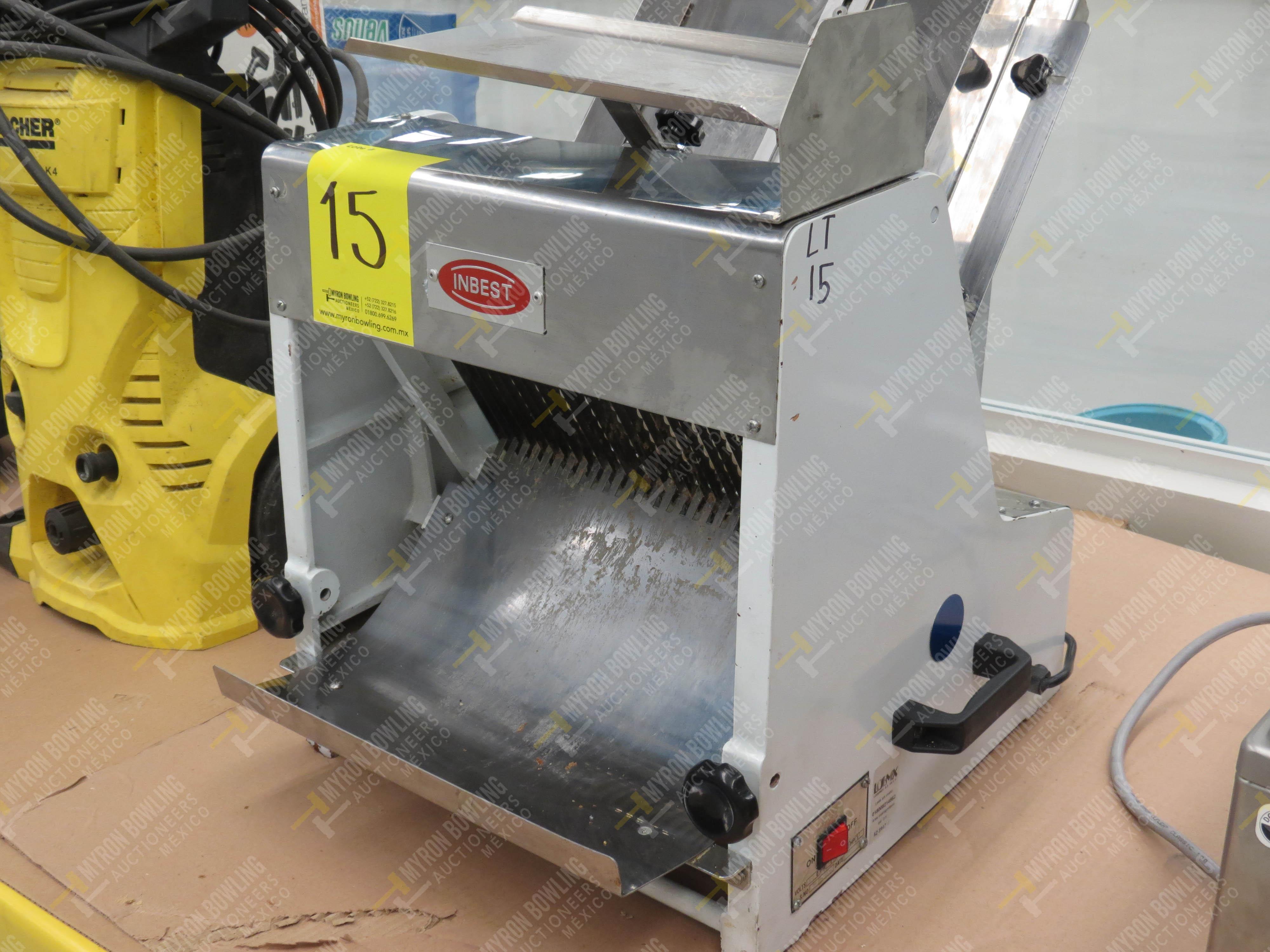 Rebanadora de pan de caja marca Inbest, Modelo 85081512, No. de Serie 639387, año 2006 - Image 2 of 5