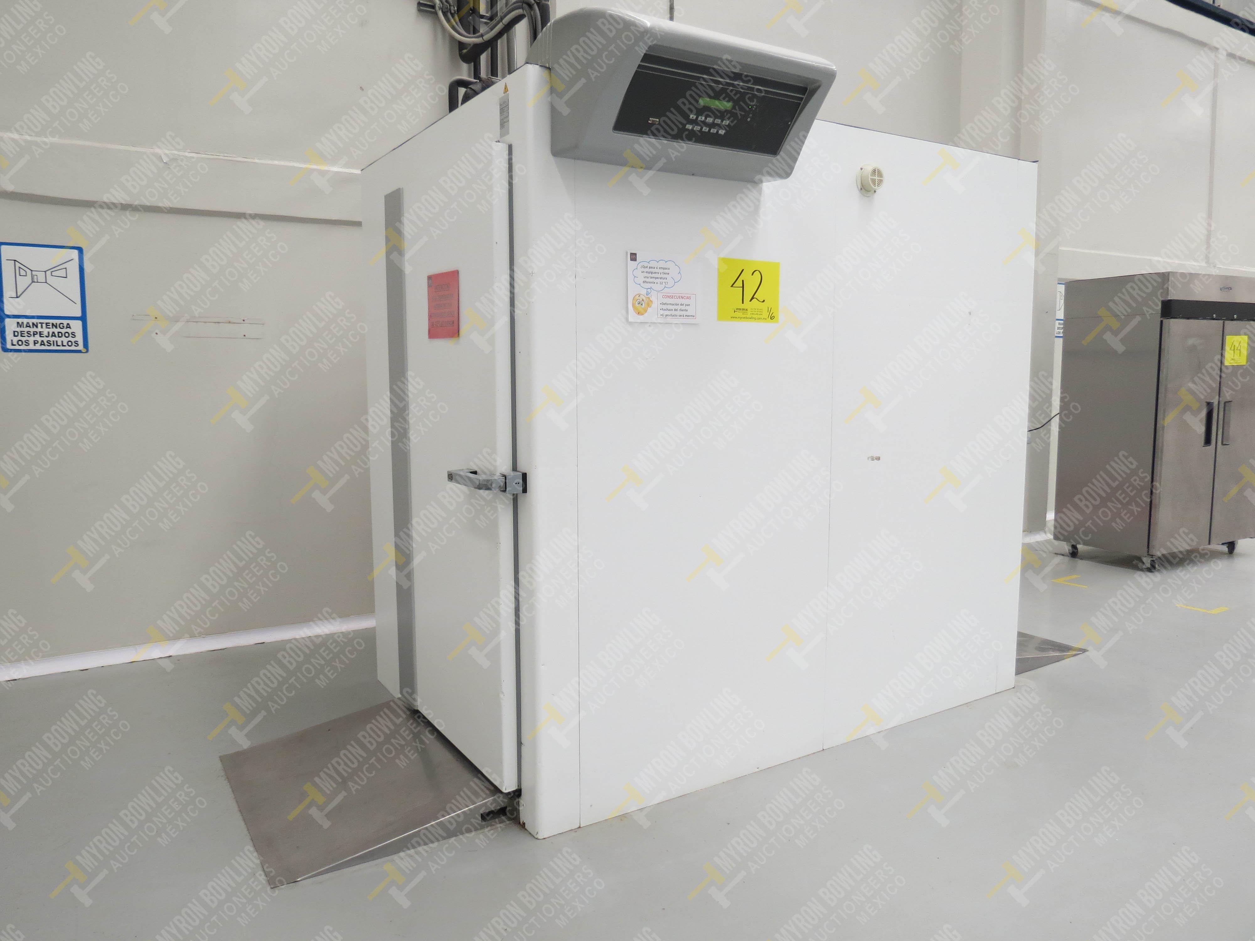 Túnel de congelación de alimentos marca Criocabin, Modelo G130020, No. de Serie 29535666 …