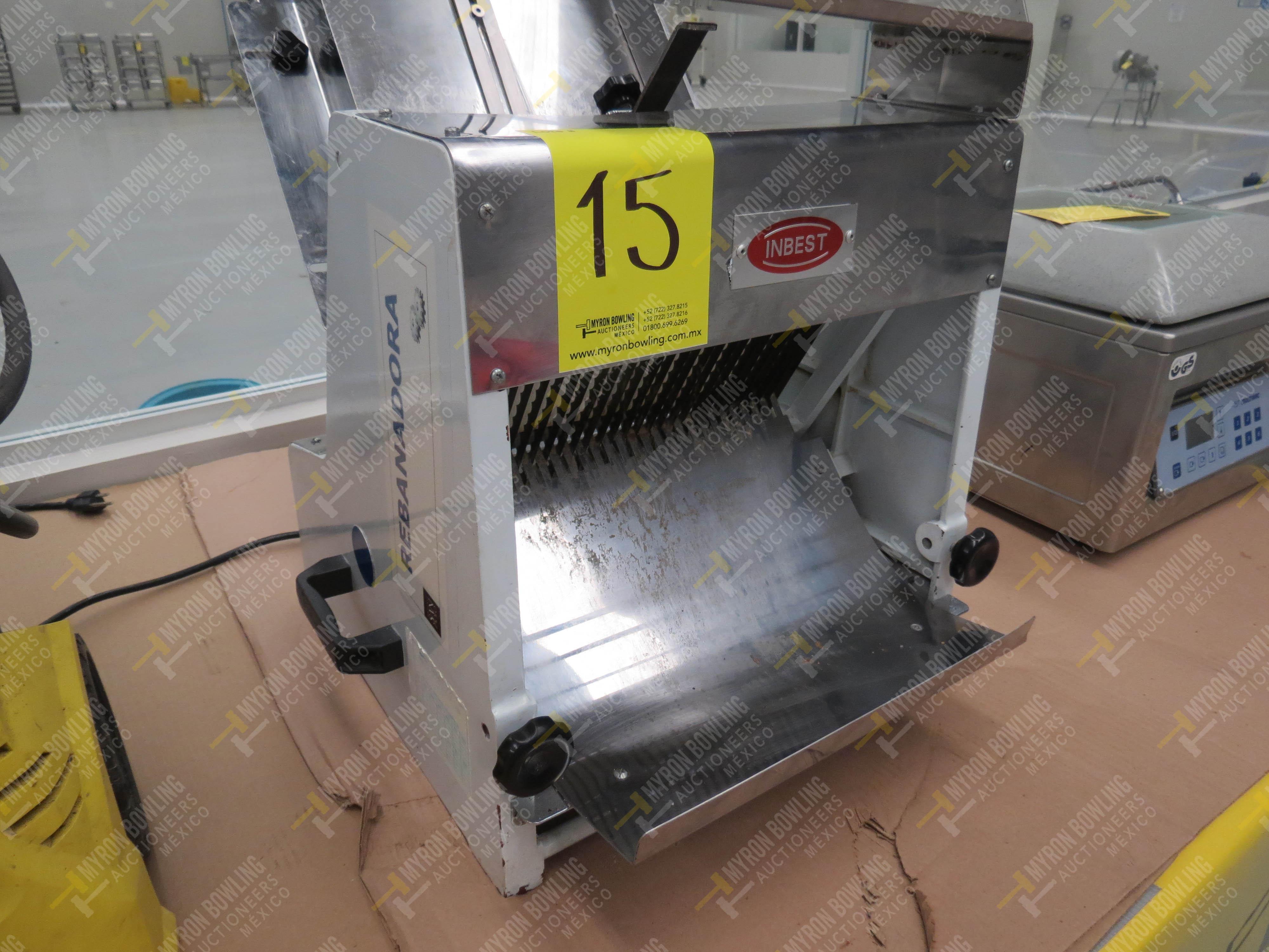 Rebanadora de pan de caja marca Inbest, Modelo 85081512, No. de Serie 639387, año 2006 - Image 3 of 5