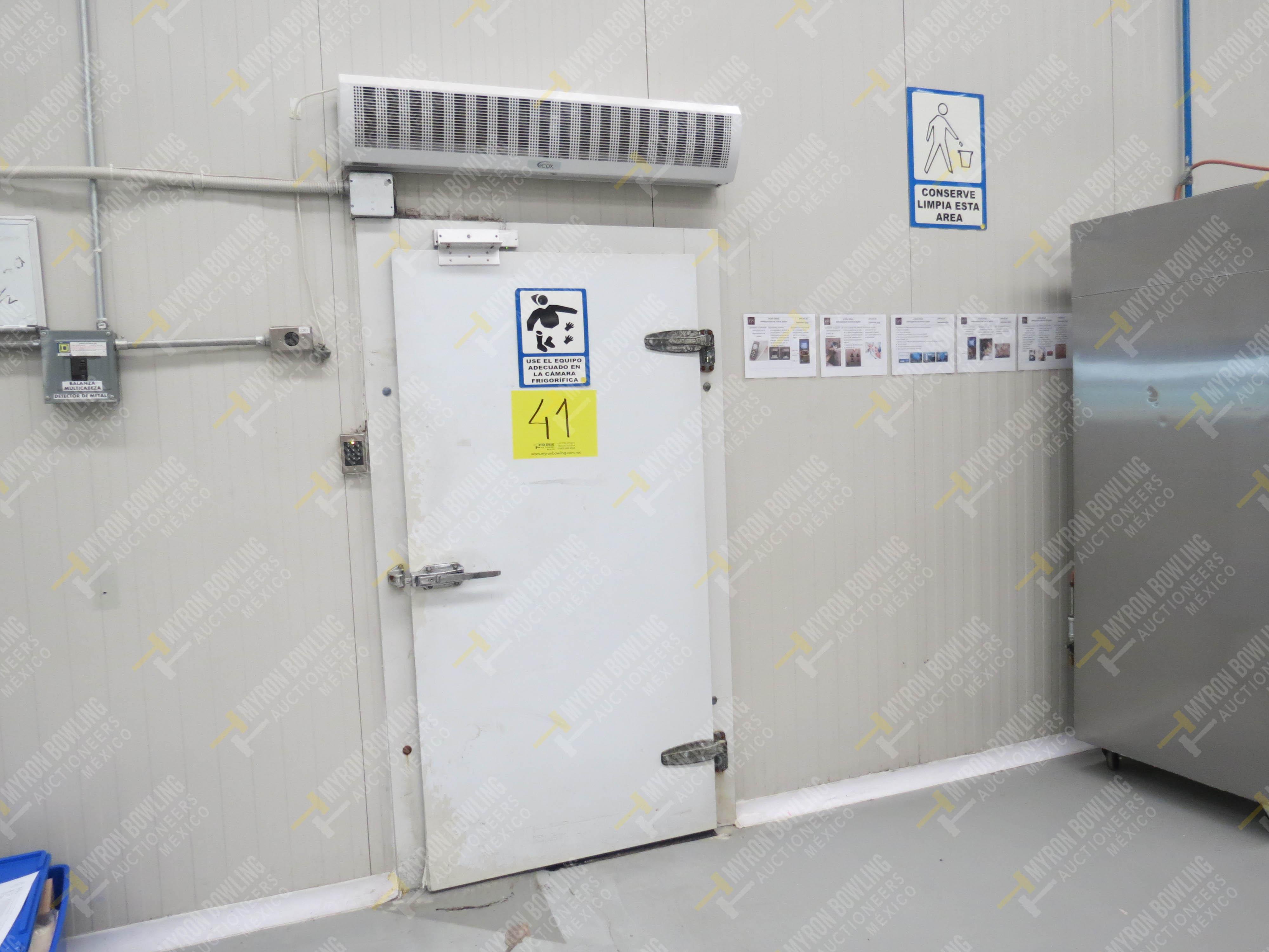Cámara de refrigeración marca Krack, Modelo CSD-0301-L4K-133DD medidas 6.80 x 13.30 x 5.80 - Image 5 of 15