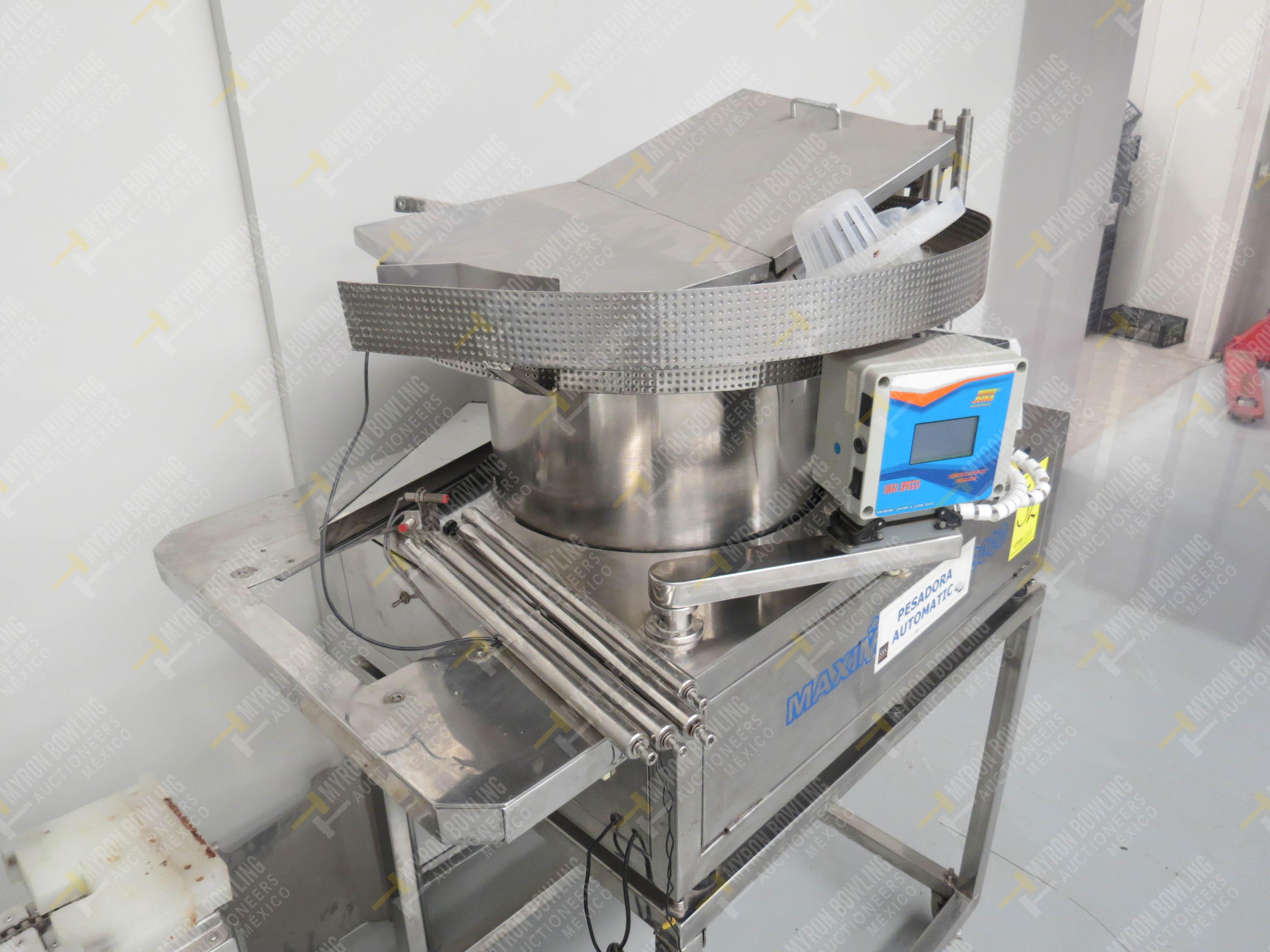 Pesadora automática de precisión marca JHM Máquinas, Modelo Maximatic CLP 3000 Incluye … - Image 5 of 5