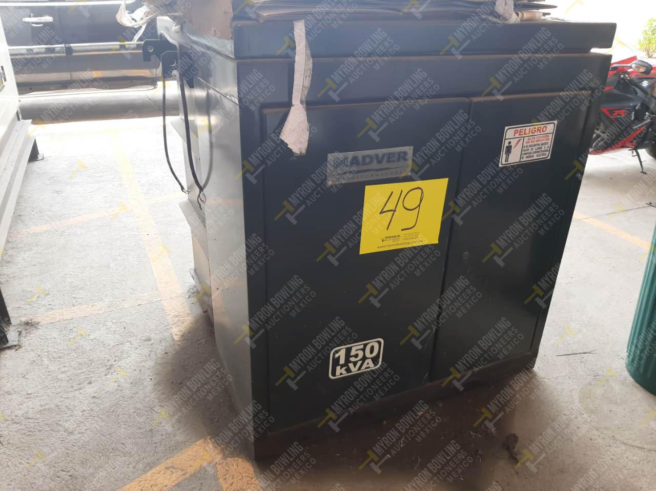 Transformador en aceite capacidad 150 KVA - Image 2 of 4