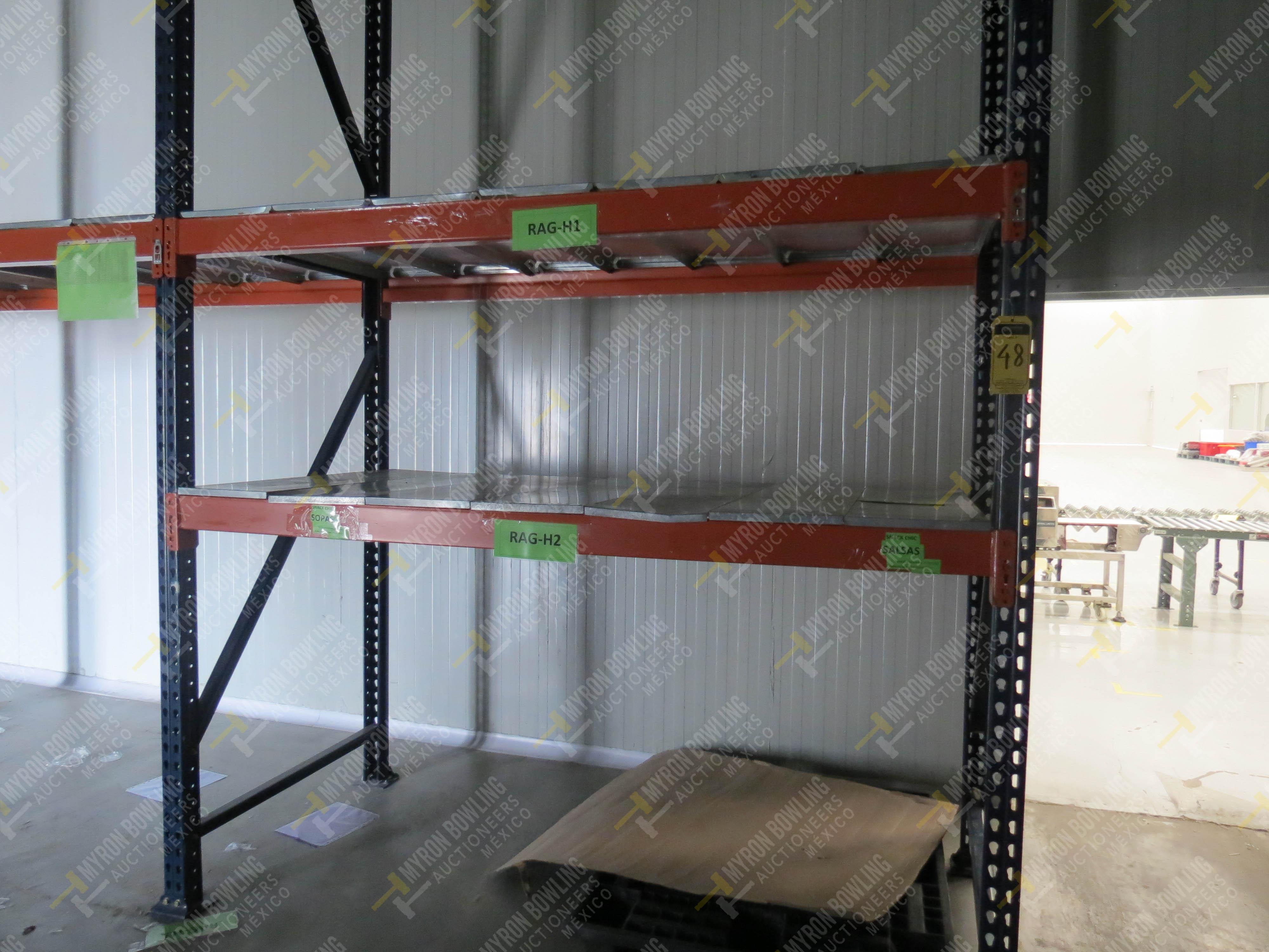 Rack de carga de 9 postes de 1.07 x 4 con 20 travesaños de 2.20 m, se incluye un poste … - Image 4 of 5