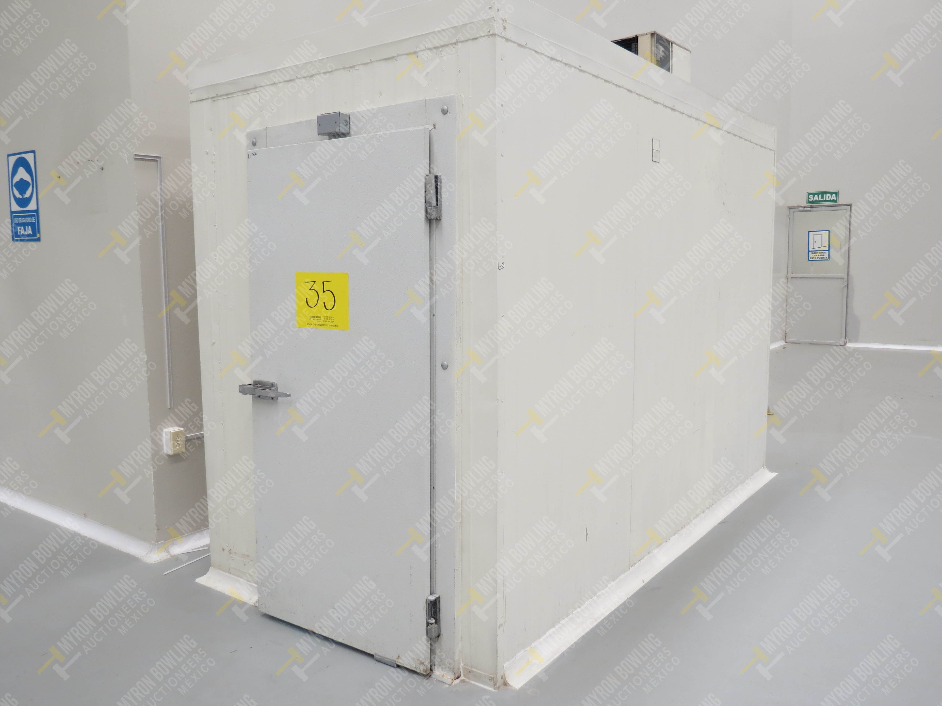 Cámara de conservación de alimentos marca Heatcraft, Modelo TL53BG, No. de Serie D07C01703