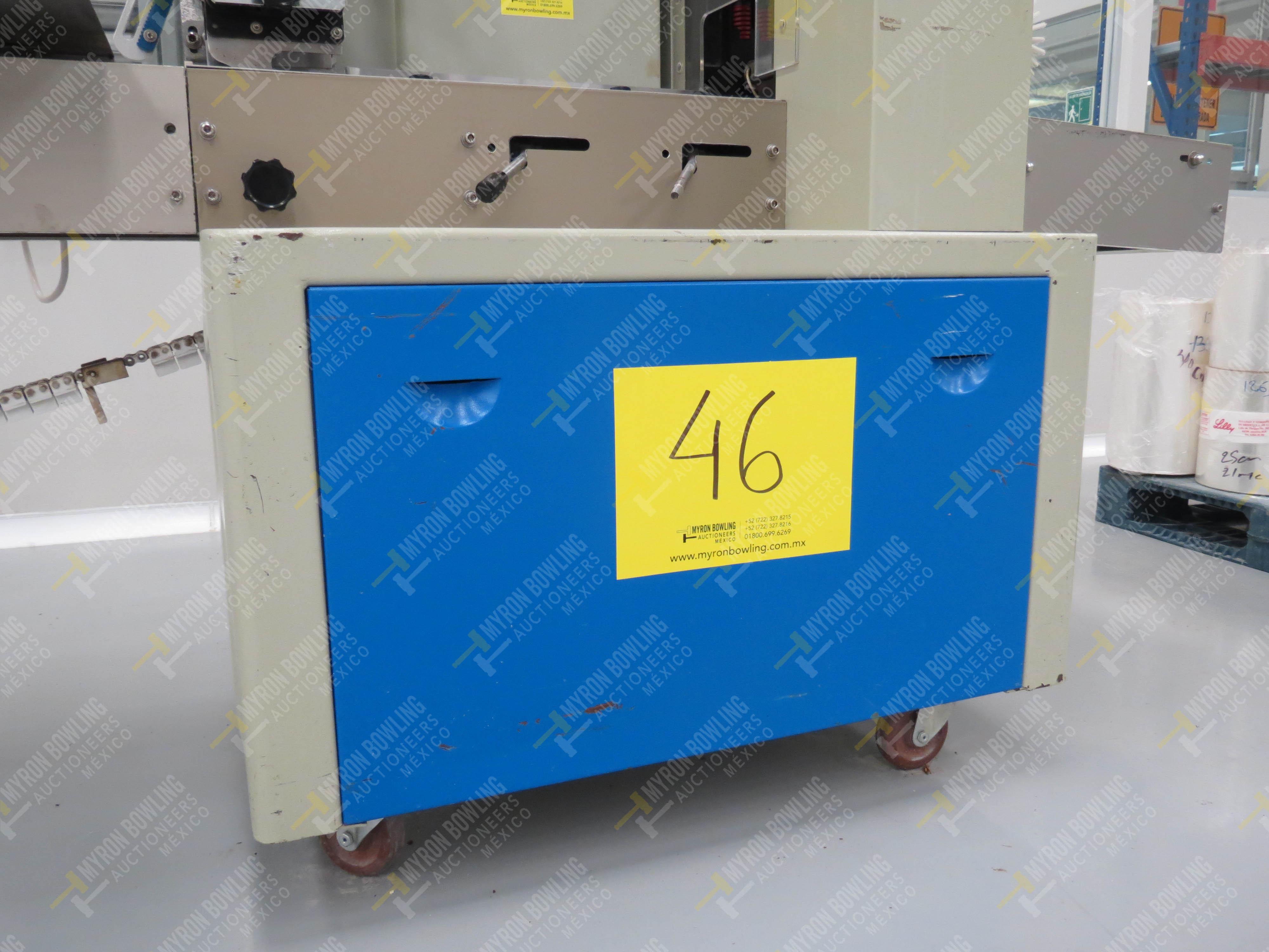 Máquina empacadora automática tipo almohadilla marca Shandong Saixin Inflating Machinery … - Image 7 of 9