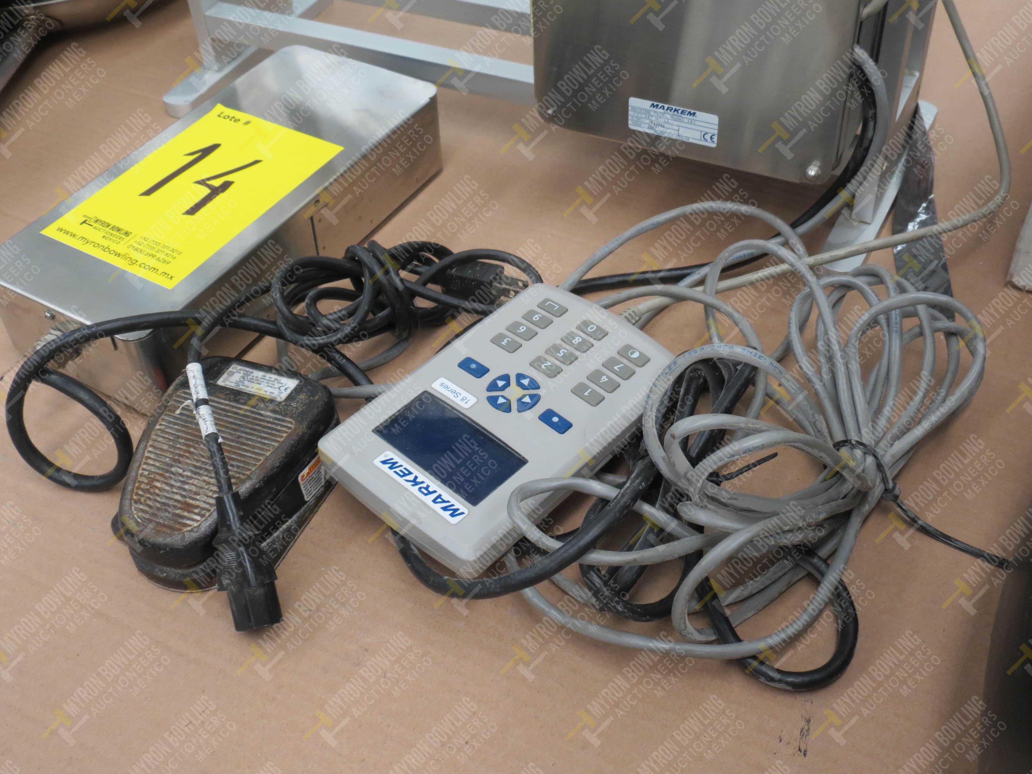 Máquina marcadora digital marca Markem, Modelo 18I, No. de Serie 7P10842, año 2007 - Image 3 of 3