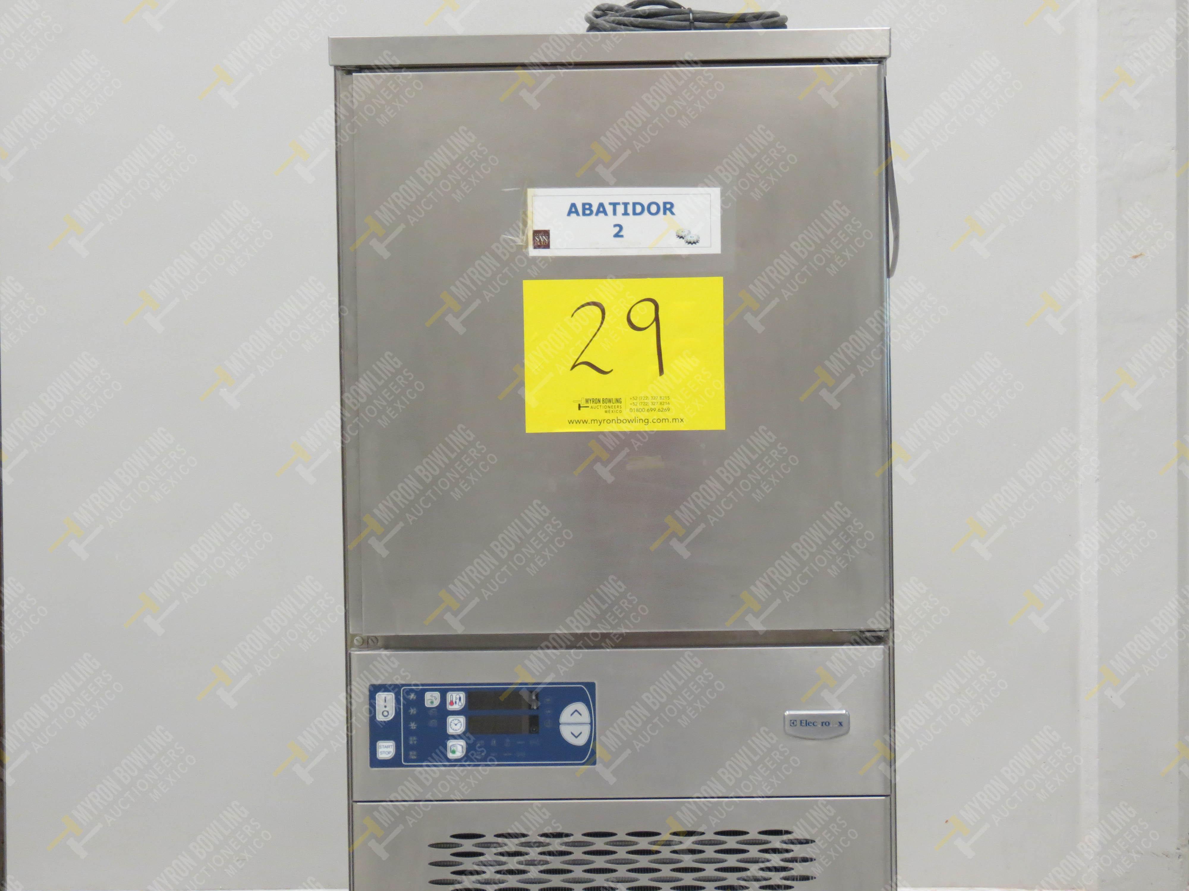Abatidor de temperatura marca Electrolux