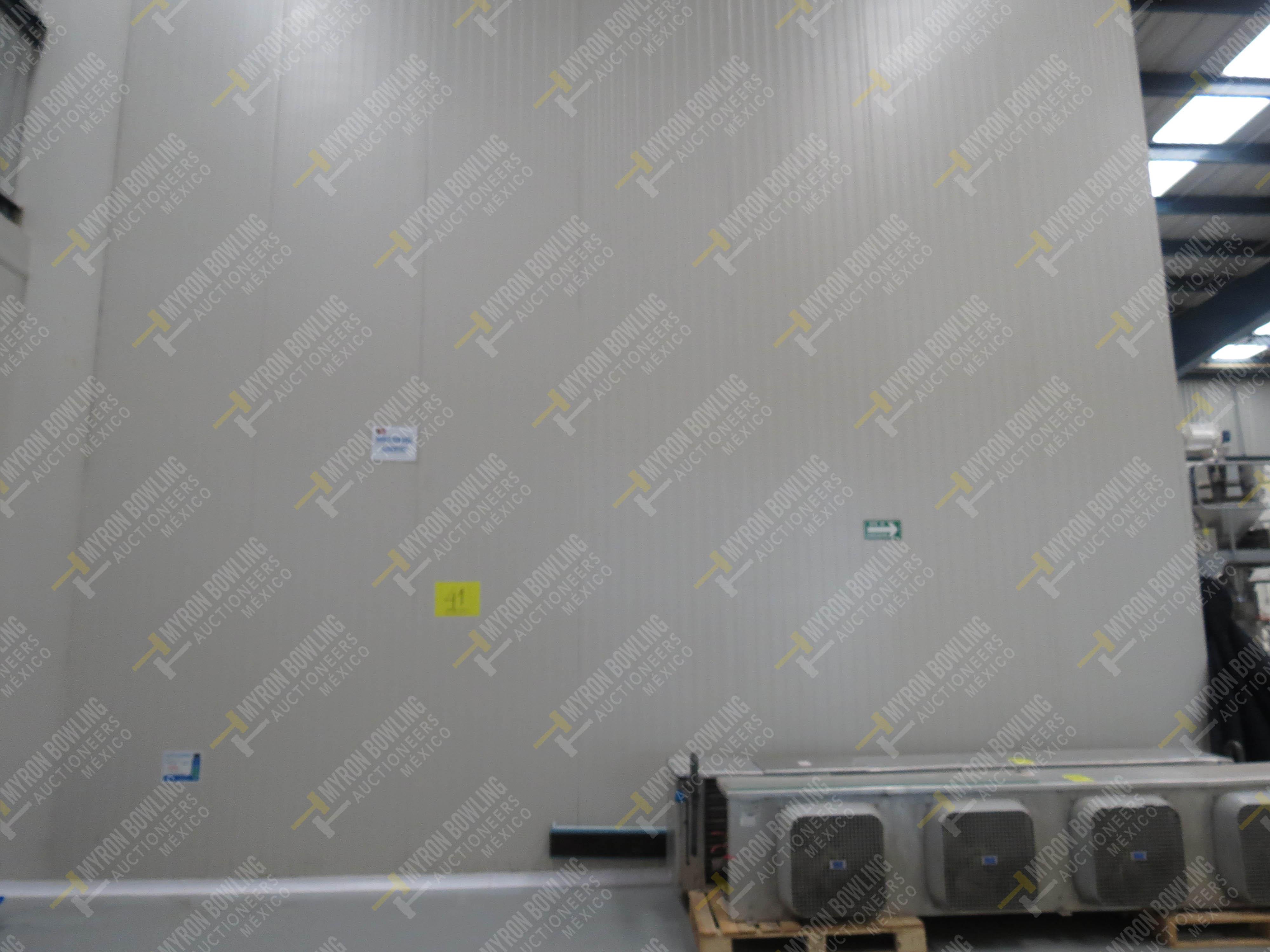 Cámara de refrigeración marca Krack, Modelo CSD-0301-L4K-133DD medidas 6.80 x 13.30 x 5.80 - Image 3 of 15