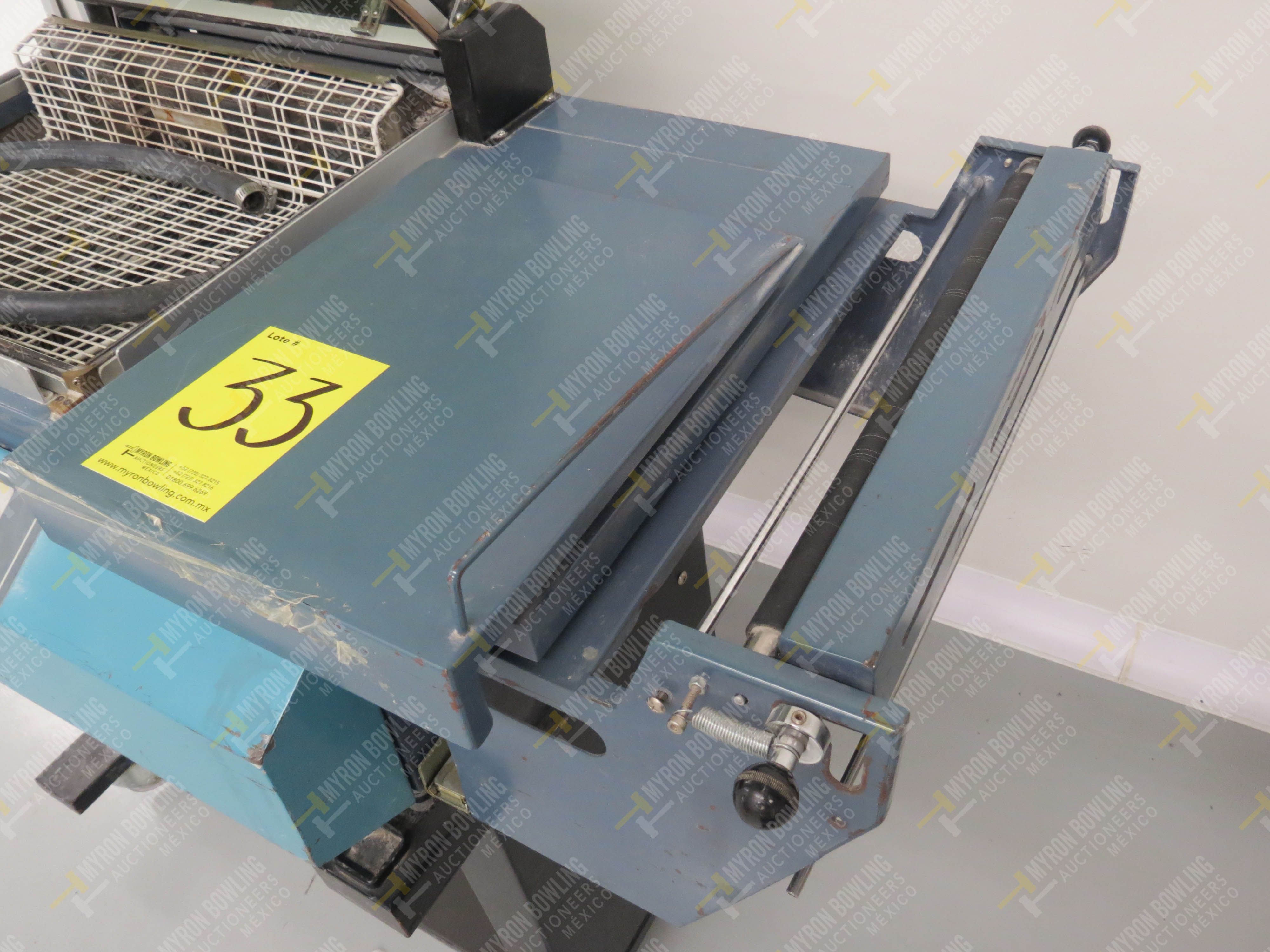 Máquina emplayadora Modelo EKH-346, No. de Serie 0601012B - Image 3 of 4