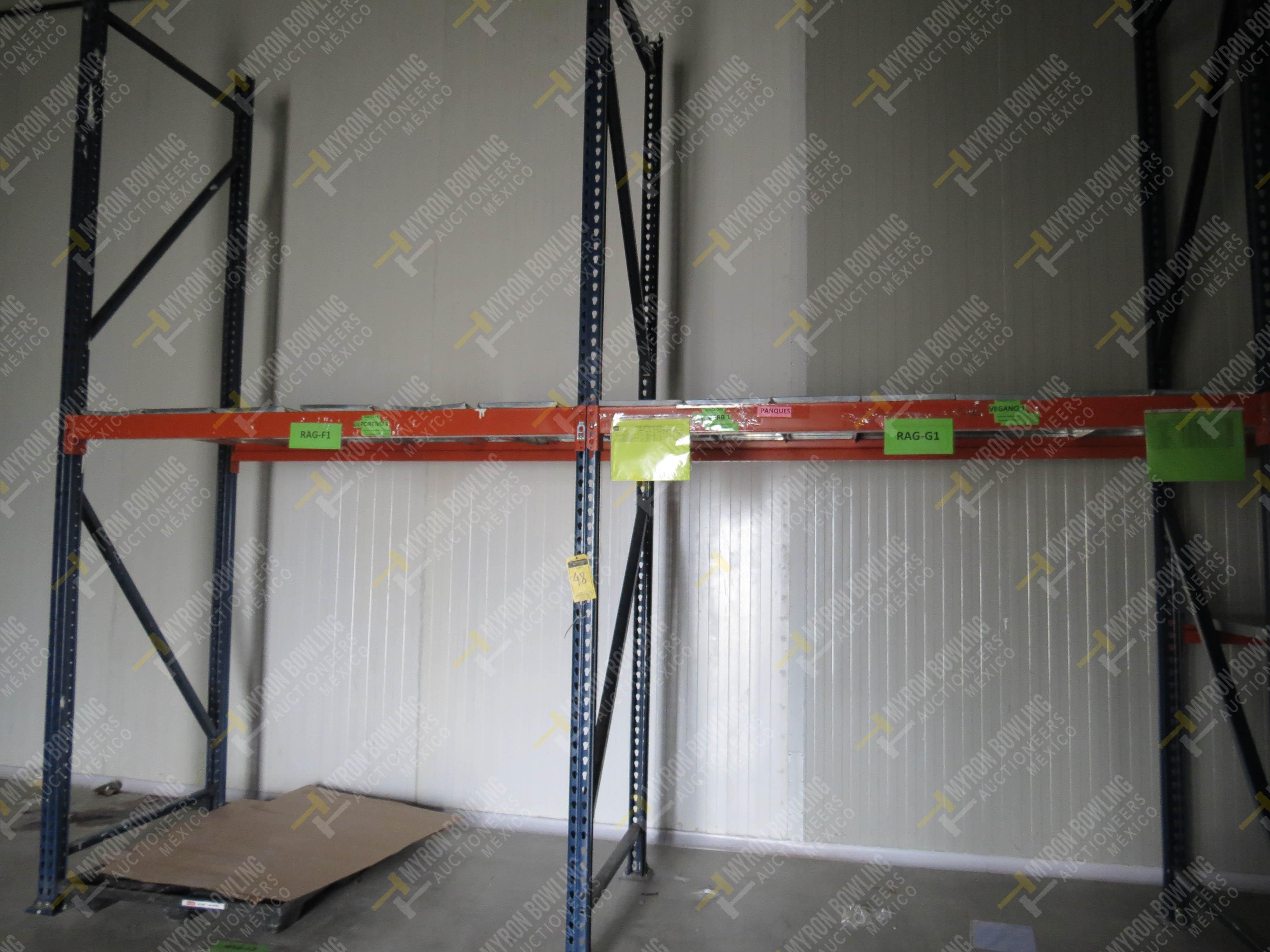 Rack de carga de 9 postes de 1.07 x 4 con 20 travesaños de 2.20 m, se incluye un poste … - Image 5 of 5