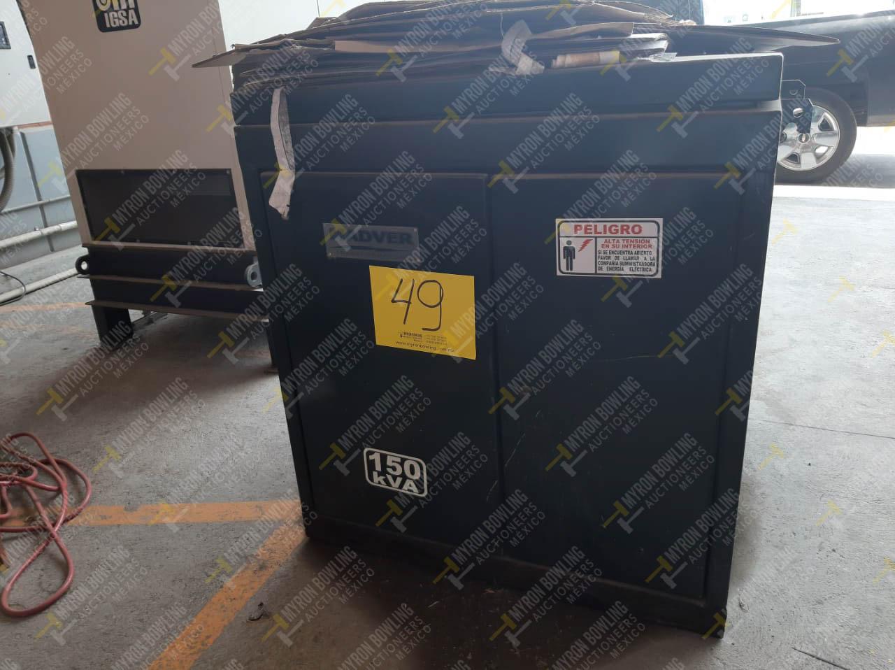 Transformador en aceite capacidad 150 KVA - Image 3 of 4