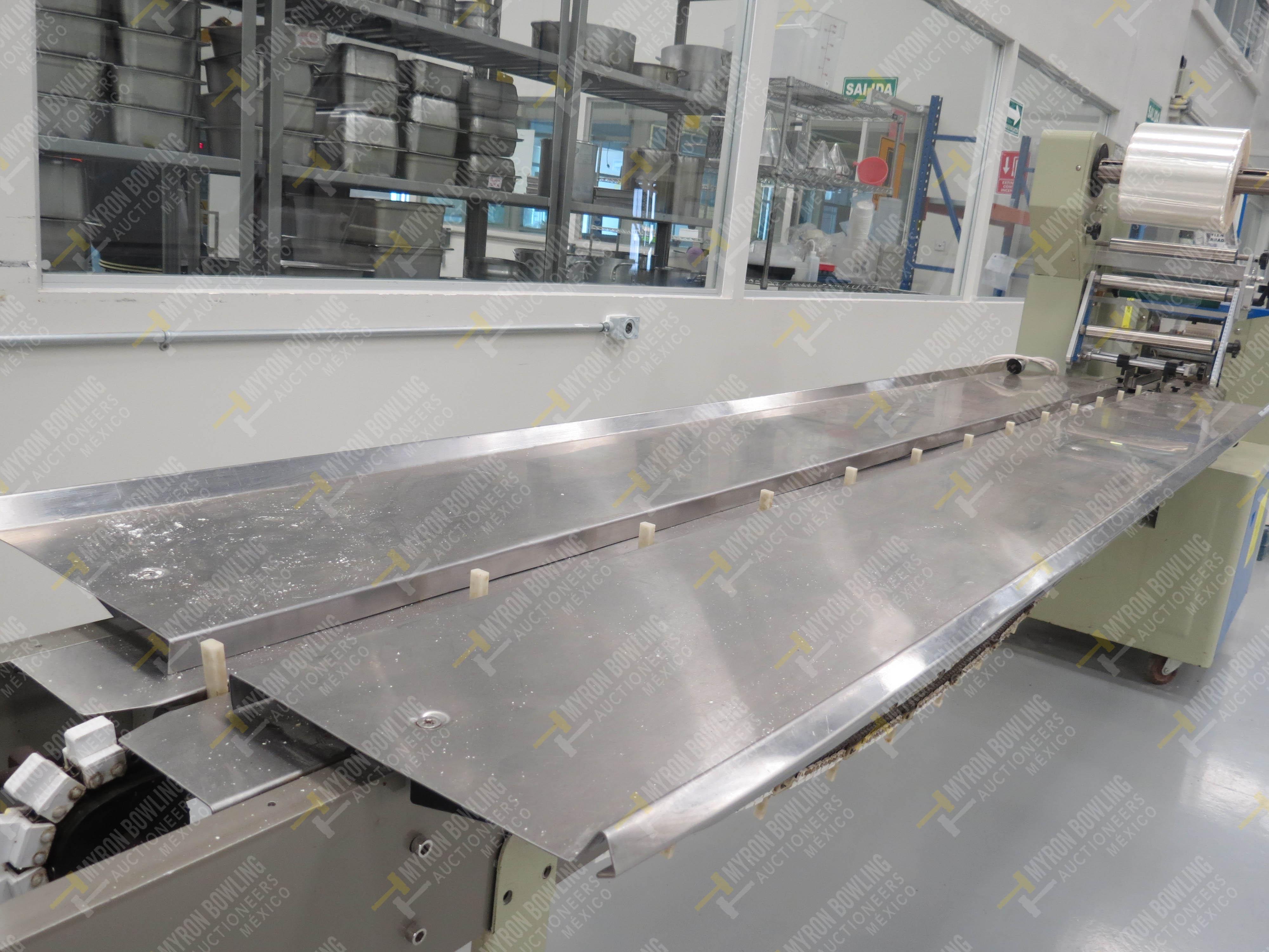 Máquina empacadora automática tipo almohadilla marca Shandong Saixin Inflating Machinery … - Image 6 of 9