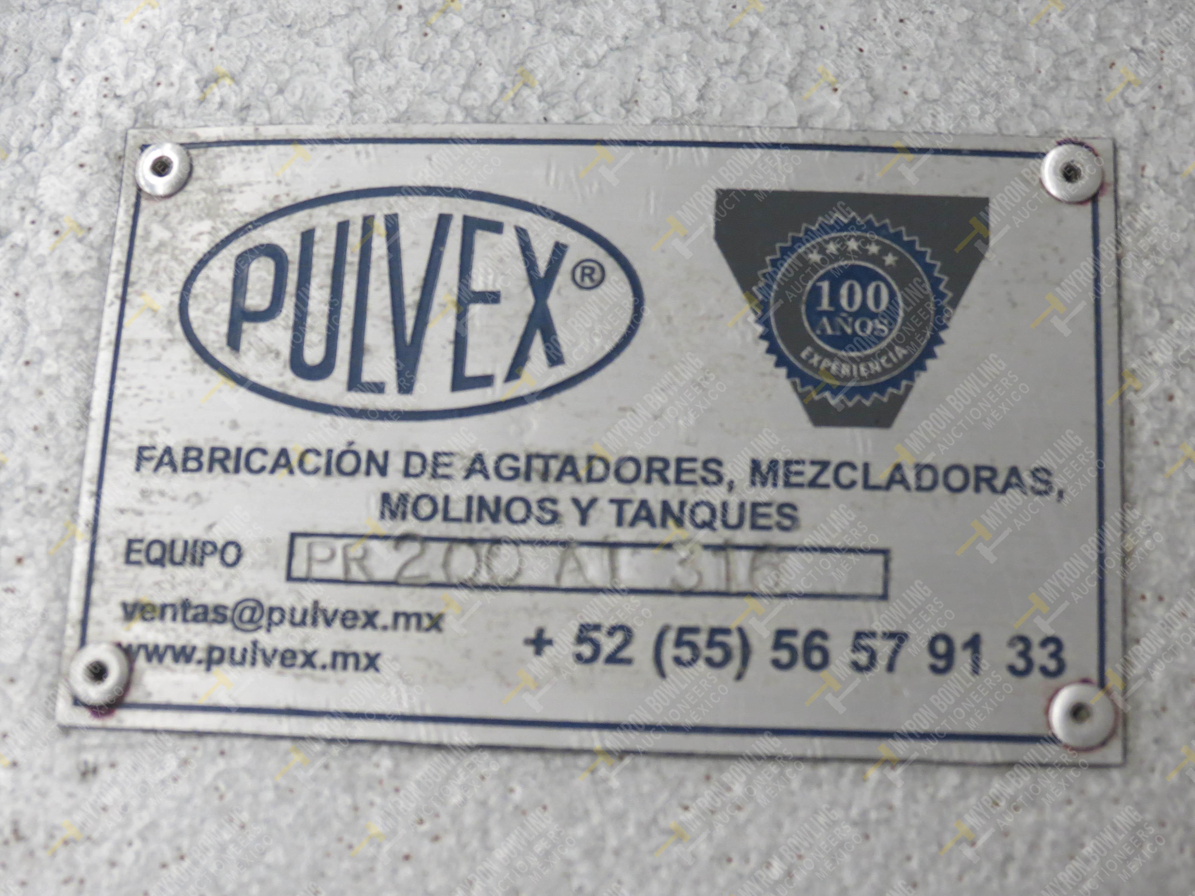 Molino rallador marca Pulvex, Modelo PR200AI316, en acero inoxidable, capacidad de motor 3… - Image 4 of 4